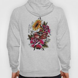 Traditional Roses and Phonograph Hoody