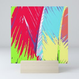 Rainbow Palms Mini Art Print