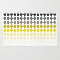 dot Area & Throw Rugs featuring Dot dot dot by SannaDavidsson