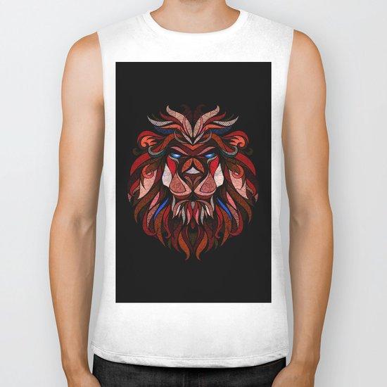 Red Lion Biker Tank