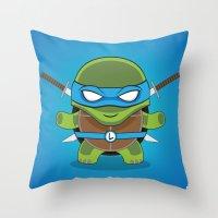 leonardo Throw Pillows featuring Leonardo by LAckas