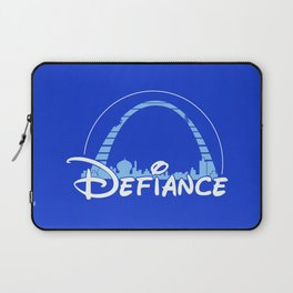 The most defiant place on New Earth Laptop Sleeve