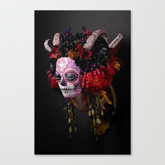Midnight Muertita Harvest Canvas Print