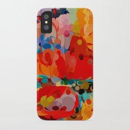 color bubble storm iPhone Case