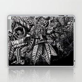 Aztec Great Lizard Warrior 1 (Triceratops) Laptop & iPad Skin