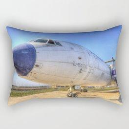 Malev Tupolev TU-154 Jet Rectangular Pillow