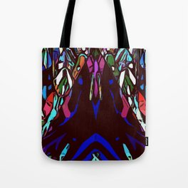 Nondenominational and Playful Pyramid Complexity Tote Bag