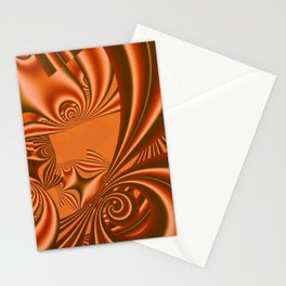 fractal geometry -124- Stationery Cards