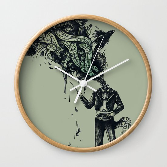 Decaying Sound of The Terror Wall Clock