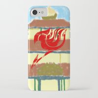 fairy tail iPhone & iPod Cases featuring Fairy Tail Segmented by JoshBeck