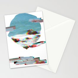 Missing the Waves Stationery Cards