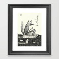 'Across The Lake' Framed Art Print