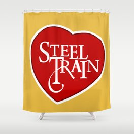 Steel Train Shower Curtain