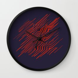The E is there Wall Clock