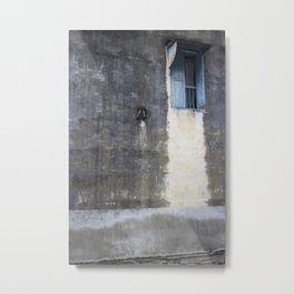 Lonely Window.  Metal Print
