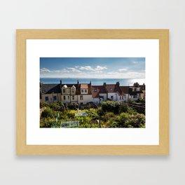 Scottish Cottages Framed Art Print