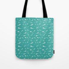 Thresher Sharks Pattern Tote Bag