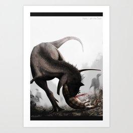Hello, I am the Devil Art Print