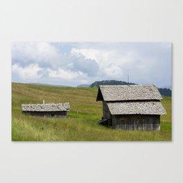 View of Dolomiti Canvas Print