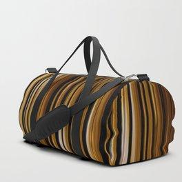 SCOTCH whiskey wood slats with shadows Duffle Bag