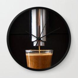 Coffee Shot Wall Clock