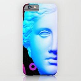 Ancient neon gods #3: Venus de Milo iPhone Case
