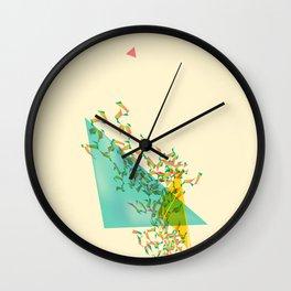 Triangled 02 Wall Clock