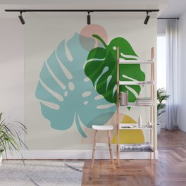 Abstraction_PLANTS_01 Wall Mural