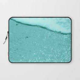 Sparkling Aqua Beach Laptop Sleeve