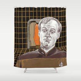 Star Trek: TNG Lt Broccoli Shower Curtain