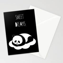 Sweet dreams with panda Stationery Cards
