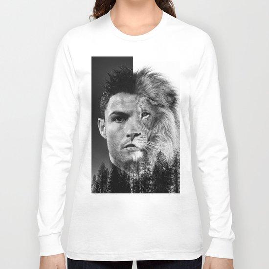 Cristiano Ronaldo Beast Mode Long Sleeve T-shirt