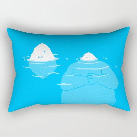 The Tip Of The Iceberg Rectangular Pillow
