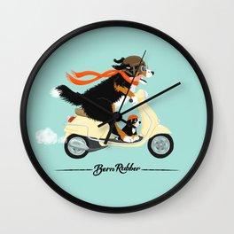 Bern Rubber Wall Clock