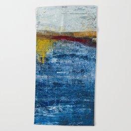Homage to a ruler - Ocean Beach Towel