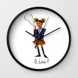 Oh, worm? Wall Clock