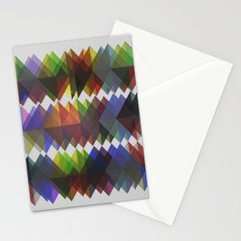 Abstract Composition 395 Stationery Cards