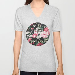 Vampire Weekend Floral logo Unisex V-Neck