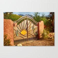 Sunny Gate Canvas Print