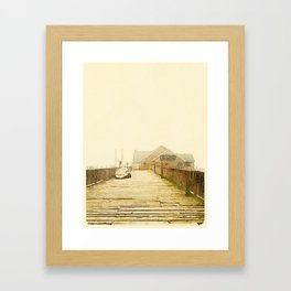 The Pearl; Rockland, Maine Framed Art Print