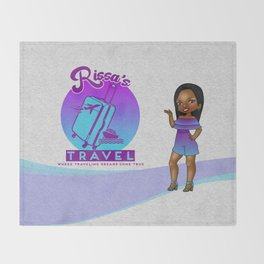 Rissa's Travel Throw Blanket