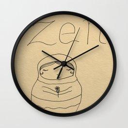 Keepin' it Zen (No Watercolor) Wall Clock