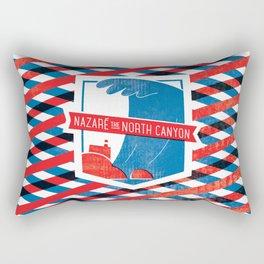 Nazaré - The North Canyon Rectangular Pillow