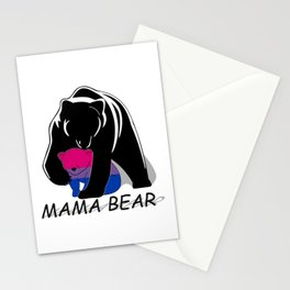 Mama Bear Bisexual Stationery Cards
