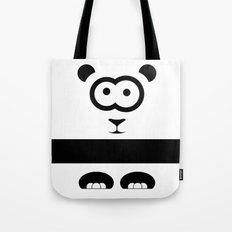 Minimal Panda Tote Bag