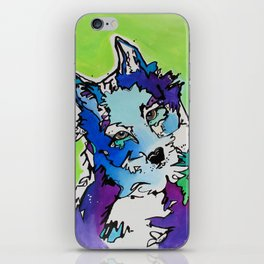 Piper the Husky (Limited Time Offer) iPhone Skin