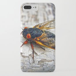 Red Eyed Cicada iPhone Case