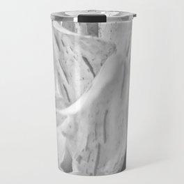 Marbled Dahlia, No. 1 bw Travel Mug