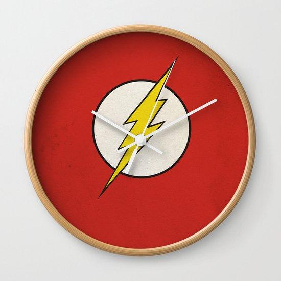 Flash Minimalist  Wall Clock