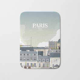 Alone In Paris - Paris s'éveille (Paris wake up) Bath Mat